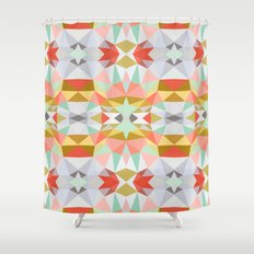 Summer Deco Tribal Shower Curtain
