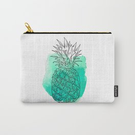 Turquoise Pineapple , pink Pineapple , tropical , hawaii , summer , fruit , Carry-All Pouch