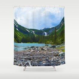Geraldine Lakes Hike in Jasper National Park, Canada Shower Curtain