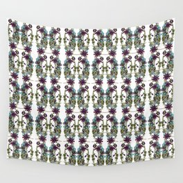 Paige McCann-Gray, Surface Pattern Designer. Heather and Crystal Collection.https://society6.com/pai Wall Tapestry