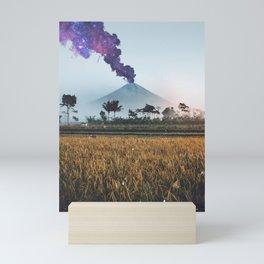 Volcano Eruption Mini Art Print