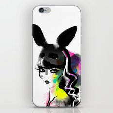 Bunny gone iPhone & iPod Skin