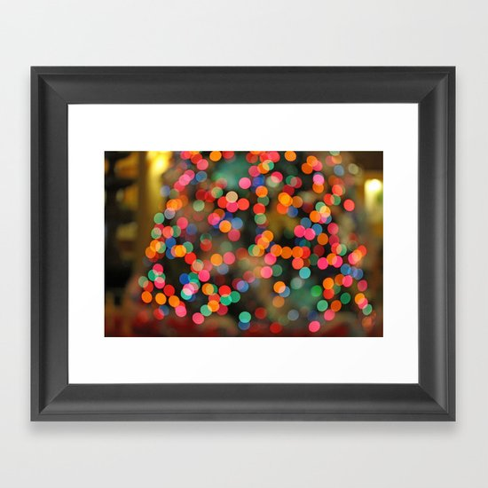Just happy thoughts today... Framed Art Print
