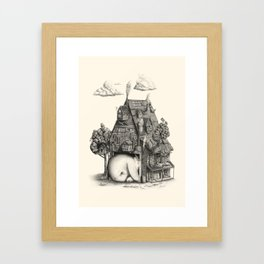 A House Just for Us Framed Art Print