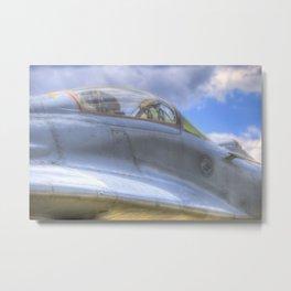 Mig-29B Fighter Jet Metal Print