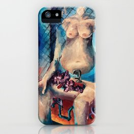 """Self Portrait"" Painting iPhone Case"