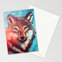 Wolf - Stare - Wanderlust Stationery Cards