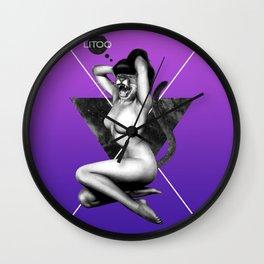 The Cougar Wall Clock