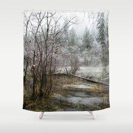 Wild Heart Shower Curtain