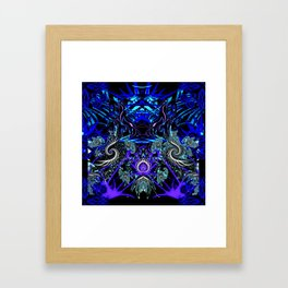 THE DIFFERENCE Framed Art Print