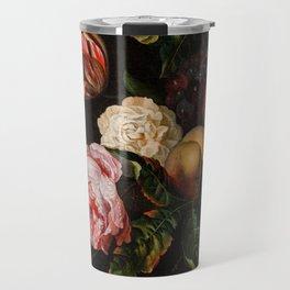 "Ernst Stuven ""Still-life with peaches"" Travel Mug"