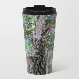 Orchids in the Tree Travel Mug