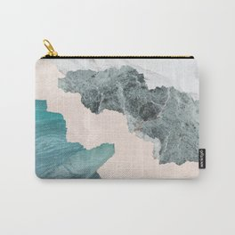 Flooded Marble Carry-All Pouch