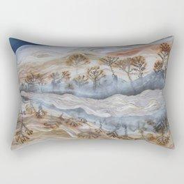 Dendrite Agate Rectangular Pillow