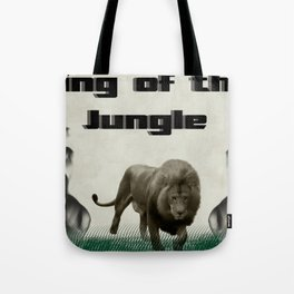 The King of The Jungle Tote Bag