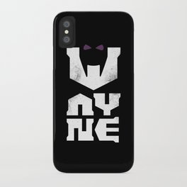 Wayne iPhone Case