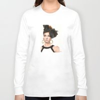 moschino Long Sleeve T-shirts featuring Moschino Fall 2012 by Kafie Martin