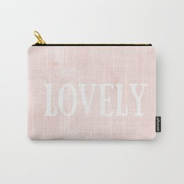 Lovely Pink Carry-All Pouch