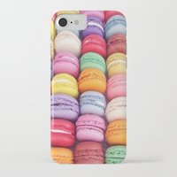 macarons iPhone & iPod Cases featuring Macarons by Sankakkei SS