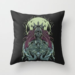 King of machine Throw Pillow