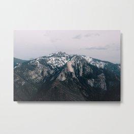 Mountains in Sequioa Metal Print