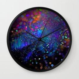 D-I-S-C-O Wall Clock