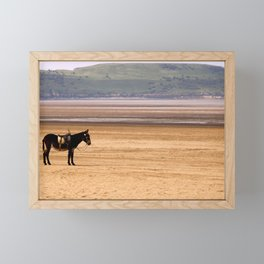 The Lost Donkey Framed Mini Art Print