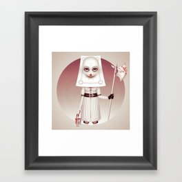 Wonderlost - Card Guard Framed Art Print