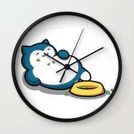 Snorlax Wall Clock