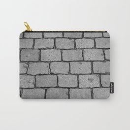 Cobblestone Street - Stone texture Carry-All Pouch