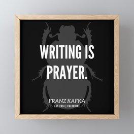 81   |  Franz Kafka Quotes | 190517 Framed Mini Art Print