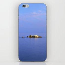 San Cristobal Reefs. Blue hour iPhone Skin
