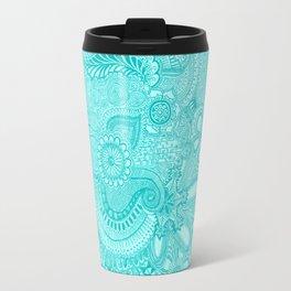 millions aqua Travel Mug