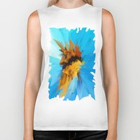 butterfly Biker Tanks featuring Butterfly by Paul Kimble