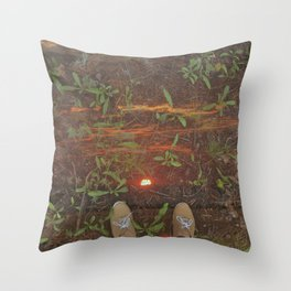 The Final Dream Throw Pillow