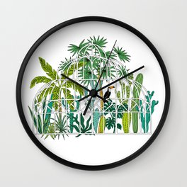Royal greenhouse Wall Clock