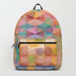 Abstract Pastel Pallete Backpack