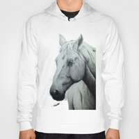 horse Hoodies featuring Horse by Chris Knight