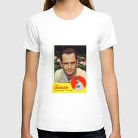 larry T-shirts featuring Larry Jackson by Meg Rust. Mly Designs