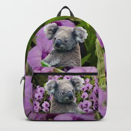 Koala and Orchids Backpack