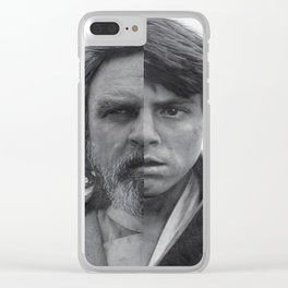 StarWars - Luke Skywalker Over Forty Years of the Force! Pencil Drawing Wall Art Print Poster Clear iPhone Case