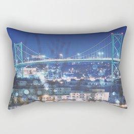 Bridge of Winter Rectangular Pillow