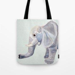 Cuddly Elephant II Tote Bag