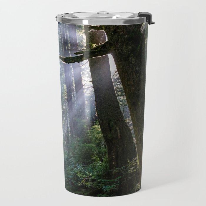 Rain Forest at La Push Travel Mug
