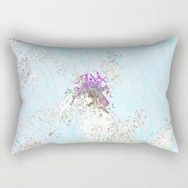 the unicorn Rectangular Pillow