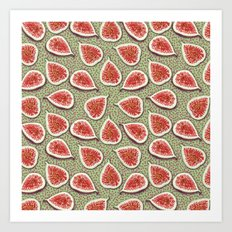 Figs Pattern Art Print