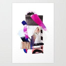 Purple Levels Art Print