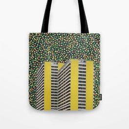Colorful City Tote Bag