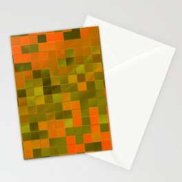 little colored squares -2- Stationery Cards