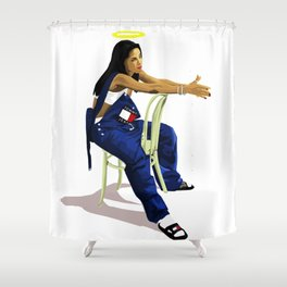 Aaliyah Shower Curtain